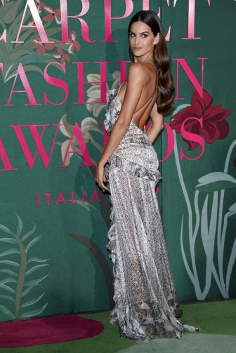 MILAN, ITALY - SEPTEMBER 22:  Alessandra Ambrosio attends the Green Carpet Fashion Awards during the Milan Fashion Week Spring/Summer 2020 on September 22, 2019 in Milan, Italy. (Photo by Stefania D'Alessandro/Getty Images)