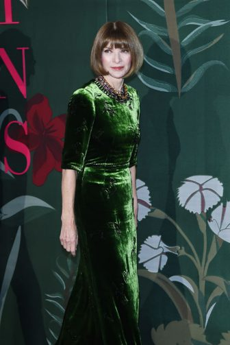 MILAN, ITALY - SEPTEMBER 22:  Anna Wintour attends the Green Carpet Fashion Awards during the Milan Fashion Week Spring/Summer 2020 on September 22, 2019 in Milan, Italy. (Photo by Stefania D'Alessandro/Getty Images)