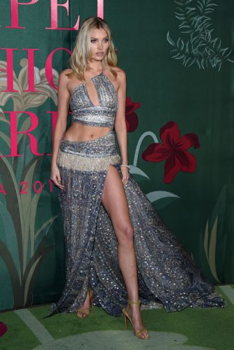 MILAN, ITALY - SEPTEMBER 22:  Elsa Hosk attends the Green Carpet Fashion Awards during the Milan Fashion Week Spring/Summer 2020 on September 22, 2019 in Milan, Italy. (Photo by Stefania D'Alessandro/Getty Images)