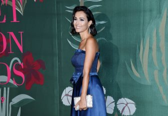 MILAN, ITALY - SEPTEMBER 22: Caterina Balivo attends the Green Carpet Fashion Awards during the Milan Fashion Week Spring/Summer 2020 on September 22, 2019 in Milan, Italy. (Photo by Stefania D'Alessandro/Getty Images)