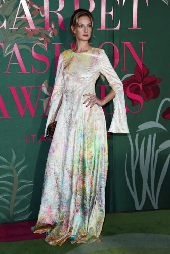 MILAN, ITALY - SEPTEMBER 22:  Eva Riccobono attends the Green Carpet Fashion Awards during the Milan Fashion Week Spring/Summer 2020 on September 22, 2019 in Milan, Italy. (Photo by Stefania D'Alessandro/Getty Images)