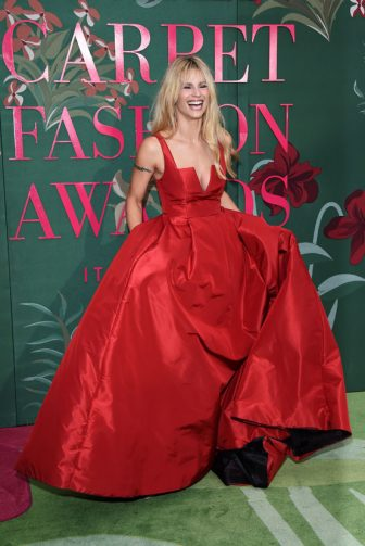 MILAN, ITALY - SEPTEMBER 22:  Michelle Hunziker attends the Green Carpet Fashion Awards during the Milan Fashion Week Spring/Summer 2020 on September 22, 2019 in Milan, Italy. (Photo by Stefania D'Alessandro/Getty Images)