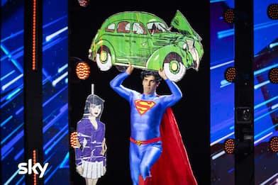 Chi è Giustino Carchesio, il cosplay di Superman in finale ad IGT