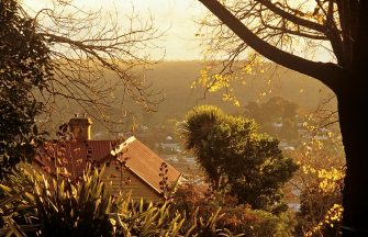View over town, Daylesford, Victoria, Australia. (Photo by Auscape/Universal Images Group via Getty Images)
