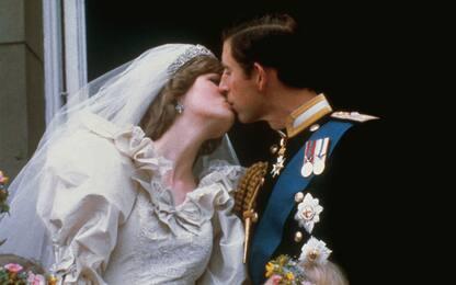 Il matrimonio di Lady Diana e del principe Carlo. FOTO