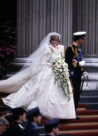 LONDON - JULY 29: (FILE PHOTO) Prince Charles, Prince of Wales and Diana, Princess of Wales leave St. Paul's Cathedral following their wedding  July 29, 1981 in London, England.   (Photo by Anwar Hussein/Getty Images)