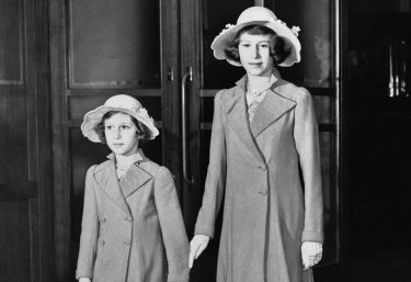 Princess Margaret Rose, left, and Princess Elizabeth arrived at Olympia for a performance of the International Horse Show, June 21, 1939, London, England. Princess Elizabeth is next in line to wear Englands crown. (AP Photo)
