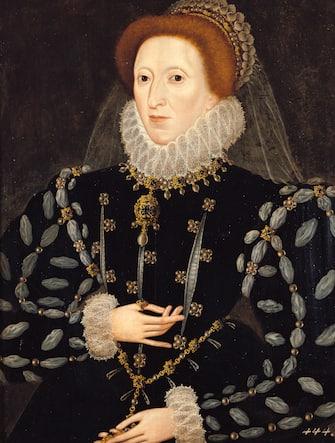 ENGLAND - JANUARY 01:  Queen Elisabeth I. (1553-1603). Around 1575. Painting by Nicholas Hilliard.  (Photo by Imagno/Getty Images) [Koenigin Elisabeth I. von England (1533-1603). Um 1575-1580. Gemaelde von Nicholas Hilliard]