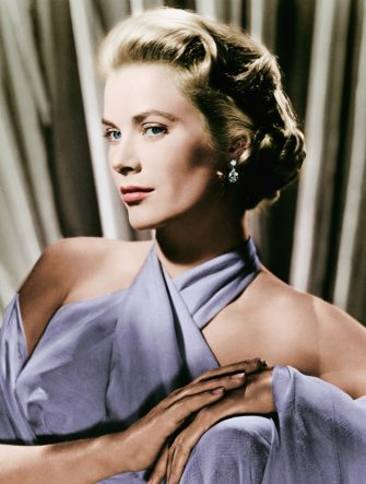 Grace Kelly (1929-1982) in a 1950s portrait at the height of her film career.