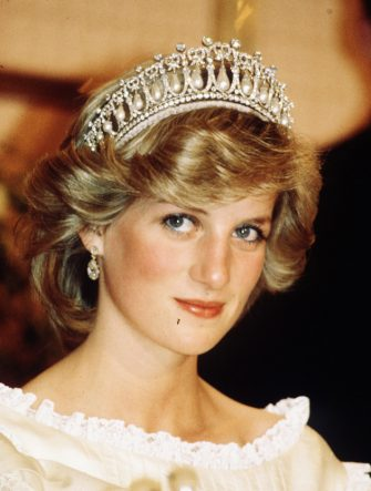NEW ZEALAND - 20th APRIL 1983:  Princess Diana, Princess of Wales, looks thoughtful while wearing a tiara in New Zealand during April 1983.  (Photo by Anwar Hussein/WireImage)
