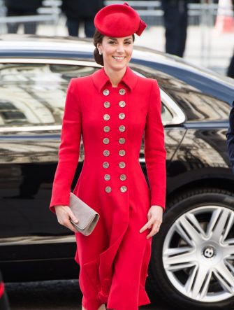 LONDON, ENGLAND - MARCH 11:  Catherine, Duchess of Cambridge attends the Commonwealth Day service at Westminster Abbe6 on March 11, 2019 in London, England. (Photo by Samir Hussein/Samir Hussein/WireImage)