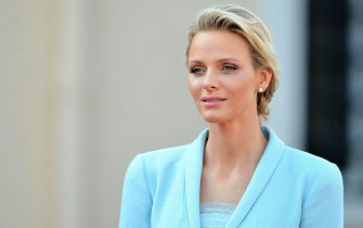 MONACO - JULY 01:  Princess Charlene of Monaco looks on after the civil ceremony of the Royal Wedding of Prince Albert II of Monaco to Charlene Wittstock at the Prince's Palace on July 1, 2011 in Monaco. The ceremony took place in the Throne Room of the Prince's Palace of Monaco, followed by a religious ceremony to be conducted in the main courtyard of the Palace on July 2. With her marriage to the head of state of Principality of Monaco, Charlene Wittstock has/will become Princess consort of Monaco and gain the title, Princess Charlene of Monaco. Celebrations including concerts and firework displays are being held across several days, attended by a guest list of global celebrities and heads of state.  (Photo by Pascal Le Segretain/Getty Images)