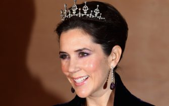 COPENHAGEN, DENMARK - JANUARY 14:  Princess Mary of Denmark arrives for a Gala Performance at the DR Concert Hall to celebrate Queen Margrethe II of Denmark's 40 years on the throne at City Hall on January 14, 2012 in Copenhagen, Denmark.  (Photo by Chris Jackson/Getty Images)