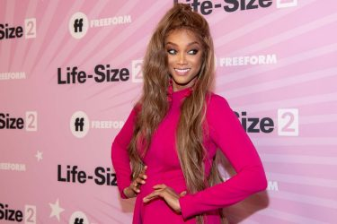 HOLLYWOOD, CA - NOVEMBER 27:  Tyra Banks attends the premiere of 'Life Size 2' at Hollywood Roosevelt Hotel on November 27, 2018 in Hollywood, California.  (Photo by Emma McIntyre/Getty Images)