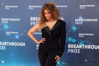 MOUNTAIN VIEW, CALIFORNIA - NOVEMBER 03: Tyra Banks attends the 2020 Breakthrough Prize Ceremony at NASA Ames Research Center on November 03, 2019 in Mountain View, California. (Photo by Taylor Hill/Getty Images)