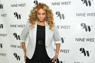 WEST HOLLYWOOD, CALIFORNIA - MARCH 05: Tyra Banks hosts Nine West New campaign launch event in celebration of International Women's Day at ABG West Style Studio on March 05, 2020 in West Hollywood, California. (Photo by Amy Sussman/Getty Images for ABA)