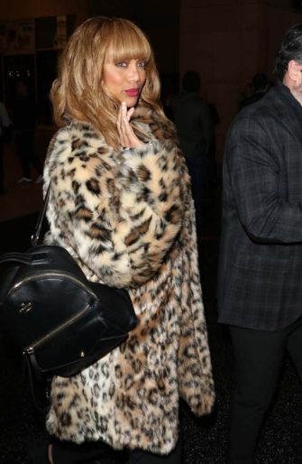 LOS ANGELES, CA - JANUARY 15:  Tyra Banks is seen on January 15, 2020 in Los Angeles, California.  (Photo by Wil R/Star Max/GC Images)