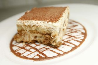 Tiramisu is photographed at Benvenuti Ristorante on Thursday, July 20, 2017, in Walnut Creek, Calif.  The dessert consists of Lady fingers, espresso coffe, and mascarpone cheese.  (Aric Crabb/Bay Area News Group) (Photo by MediaNews Group/Bay Area News via Getty Images)