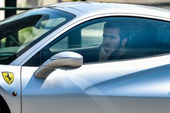 Juventus' Bosnian midfielder Miralem Pjanic arrives in his car at the Juventus' Continassa training ground in Turin on May 5, 2020, during the country's lockdown aimed at curbing the spread of the COVID-19 infection, caused by the novel coronavirus. - Juventus has recalled its 10 overseas players as Serie A clubs were given the green light to return to individual training on May 4, 2020. Players returning from abroad are to follow a health protocol and then begin training at Continassa. (Photo by Marco BERTORELLO / AFP) (Photo by MARCO BERTORELLO/AFP via Getty Images)