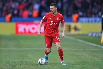 BERLIN, GERMANY - JANUARY 19: Ivan Perisic of Bayern Munich in action during the Bundesliga match between Hertha BSC and FC Bayern Muenchen at Olympiastadion on January 19, 2020 in Berlin, Germany. (Photo by PressFocus/MB Media/Getty Images)