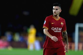 ROME, ITALY - JANUARY 05: Lorenzo Pellegrini of AS Roma looks on during the Serie A match between AS Roma and Torino FC at Stadio Olimpico on January 5, 2020 in Rome, Italy.  (Photo by Paolo Bruno/Getty Images) *** Local Caption *** Lorenzo Pellegrini