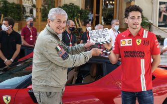Ferrari cortometraggio Lelouch Leclerc