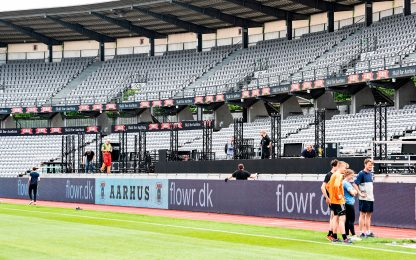 L'Aarhus porta i tifosi allo stadio con Zoom