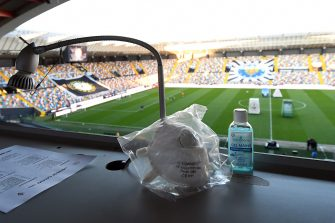 UDINE, ITALY - MARCH 08:  A general view inside the stadio Friuli before the Serie A match between Udinese Calcio and  ACF Fiorentina at Stadio Friuli on March 08, 2020 in Udine, Italy.  (Photo by Alessandro Sabattini/Getty Images)