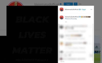 George Floyd, la Serie A si unisce al Blackout Tuesday sui social