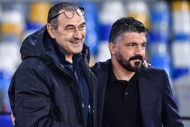 Coppa Italia, la finale è Napoli-Juve. Gattuso sfida Sarri: precedenti