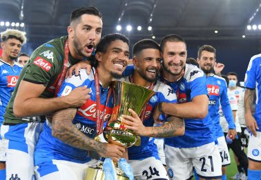 Napoli-Juventus 4-2 dopo i rigori, Gattuso alza il suo primo trofeo