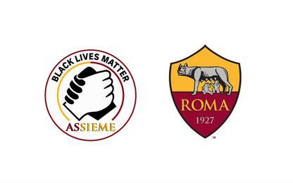 La Roma contro il razzismo: patch Black Lives Matter sulle maglie