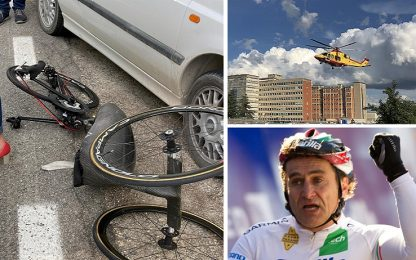 Zanardi, incidente in handbike: 3 ore di intervento neurochirurgico