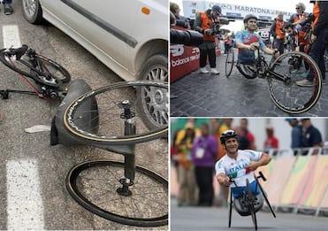 """Incidente Zanardi, perizia: """"Asfalto e handbike senza problemi"""""""