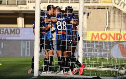 Atalanta-Sassuolo 4-1: video, gol, highlights della partita di Serie A