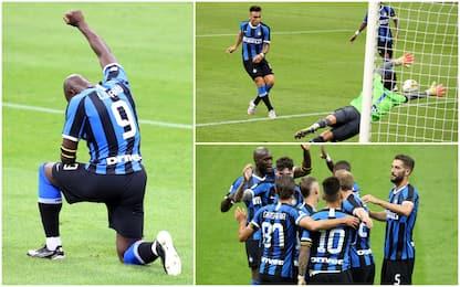 Inter-Sampdoria 2-1: video, gol e highlights della partita di Serie A