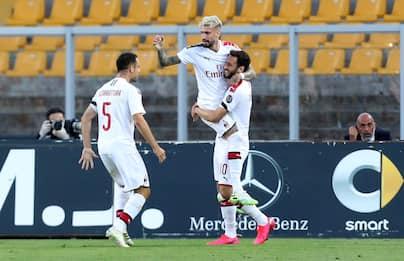 Serie A, Lecce-Milan 1-4: Pioli si affaccia in zona Europa