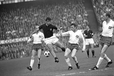 Pierino Prati, leggenda del Milan campione d'Europa e del Mondo. FOTO