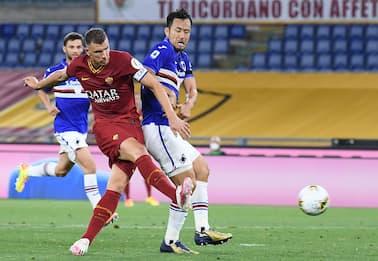 Roma-Sampdoria 2-1: video, gol e highlights della partita di Serie A
