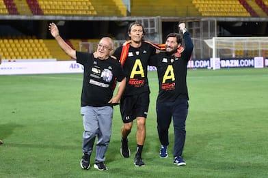 Calcio, il Benevento promosso in Serie A