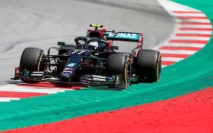 Formula 1, Gp Austria: pole a Bottas, poi Hamilton. Leclerc settimo