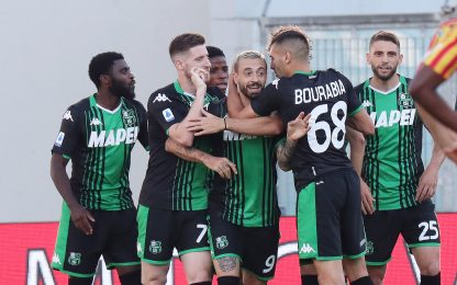 Sassuolo-Lecce 4-2: video, gol e highlights della partita di Serie A