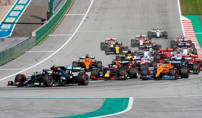 F1, Gp Austria: vince Bottas, Leclerc secondo. LE FOTO DELLA GARA