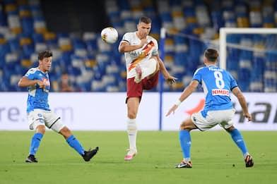 Serie A, 30esima giornata: Napoli-Roma 2-1. FOTO