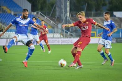 Brescia-Roma 0-3: video, gol e highlights della partita di Serie A