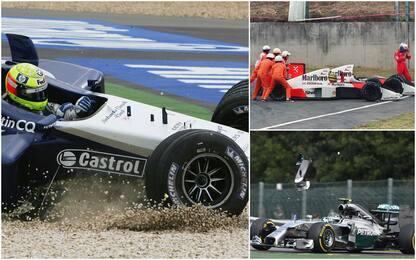 F1, Vettel-Leclerc e tutti gli incidenti storici tra compagni. FOTO