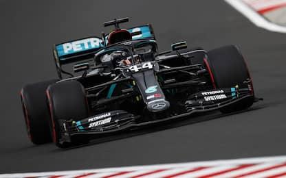 Formula 1, qualifiche Gp Ungheria: pole di Hamilton, sesto Leclerc