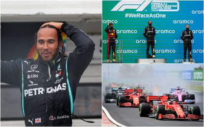 Gp Ungheria, vince Hamilton. Ferrari: sesto Vettel, undicesimo Leclerc