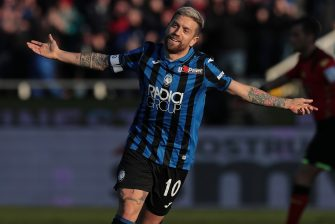 during the Serie A match between Atalanta BC and Parma Calcio at Gewiss Stadium on January 6, 2020 in Bergamo, Italy.