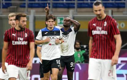 Milan-Atalanta 1-1: video, gol e highlights della partita di Serie A